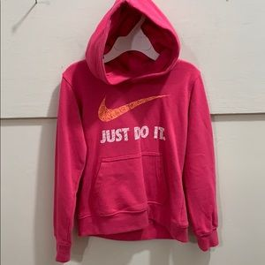 Nike Youth girls size 6 hooded pullover